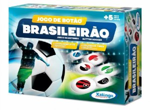 Novo Jogo de Botao Brasileirao Xalingo Brinquedos 07209