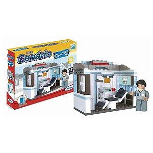 Bloco Montar Cenário Dentista 114 Pçs Xalingo 1116.5