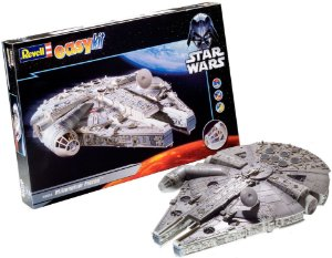 Novo Kit Facil Nave Star Wars Millenium Falcon Revell 06658
