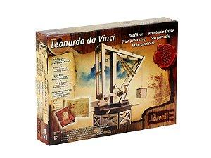 Novo Guindaste Giratorio Leonardo da Vinci Revell 00505