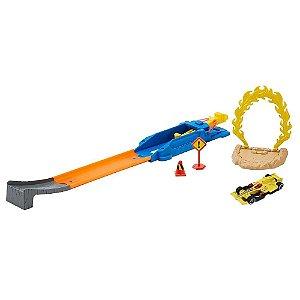 Nova Pista Hot Wheels Action Mega Salto Radical Mattel Blr01