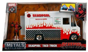 Brinquedo Die Cast Dtc Deadpool  Taco Truck