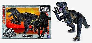 Novo Boneco Mimo Dinossauro Indoraptor Jurassic World 0752