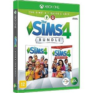 Jogo Mídia Física The Sims 4 Bundle Com Cães e Gato Xbox One