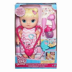 Boneca Baby Alive Cuida de Mim Hasbro 3360