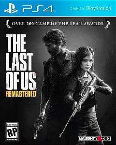 Jogo Midia Fisica The Last Of Us Remasterizado Português Ps4