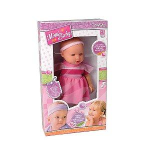 Boneca Mimi Baby Com Olhos Azuis Candide 1818