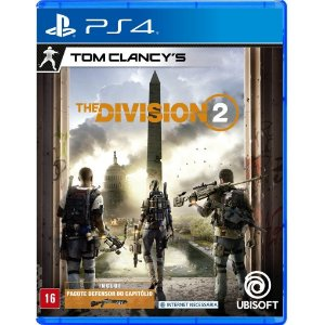 Jogo Novo Midia Fisica Tom Clancys The Division 2 para Ps4