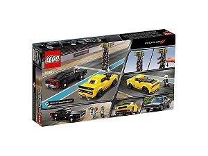 Lego Speed Champions Dodge SRT Demon e Dodge Charger 478 Pçs