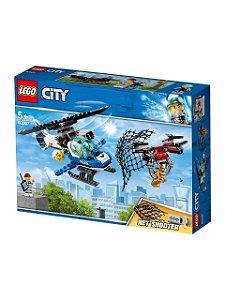 Conjunto Lego City Perseguição De Drone 192 Peças 60207