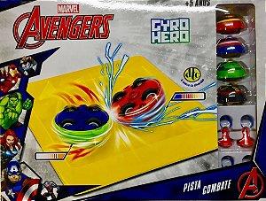 Nova Pista Combate Gyro Hero Marvel Os Vingadores Dtc 4921