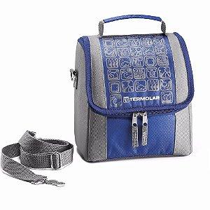 Bolsa Térmica Termo Bag 5L Azul Termolar 56252
