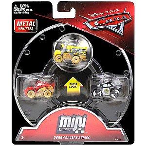 Novo Mini Racers Carros Disney Pixar Metal Aleatorio Mattel