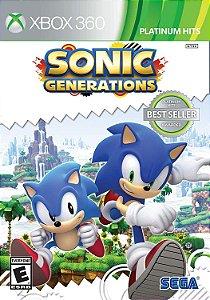 Jogo Ntsc Lacrado Sonic Generations Da Sega Para Xbox 360