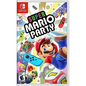 Jogo Novo Midia Fisica Super Mario Party pra Nintendo Switch