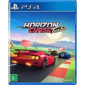Jogo Novo Mídia Física Horizon Chase Turbo Original Para Ps4