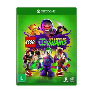 Jogo Novo Mídia Física Lego DC Super Villains Para Xbox One