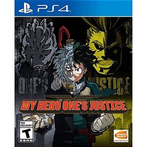 Jogo Novo Midia Fisica My Hero Ones Justice Bandai para Ps4