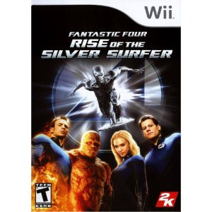 Jogo Lacrado Wii Fantastic Four Rise of The Silver Surfer