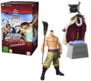 Jogo Novo One Piece Burning Blood Marineford Edition pra Ps4