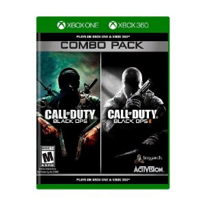 Jogo Call Of Duty Black Ops 1 E 2 Combo Pack Xbox 360 e One