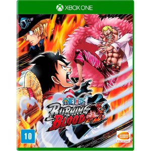 Jogo Novo Midia Fisica One Piece Burning Blood para Xbox One