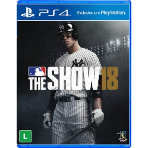 Jogo Novo Midia Fisica Mlb The Show 18 Original para Ps4