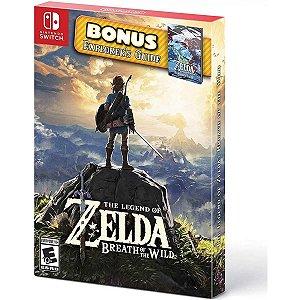 Jogo Zelda Breath Of The Wild Explorer Guide Nintendo Switch
