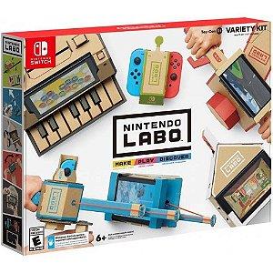 Novo Lacrado Nintendo Labo Multi - Kit Variety Kit Original