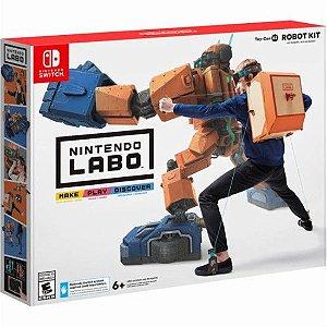 Novo Nintendo Labo Toy Con 02 Robot Kit Lacrado Kit Robo