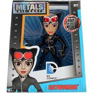 Colecionável Metals Die Cast Mulher Gato (Catwoman) DC M370