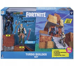 Bonecos Fortnite Turbo Builder Set com 2 Figuras Sunny 2060