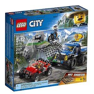 Lego City Perseguição Em Terreno Acidentado 60172