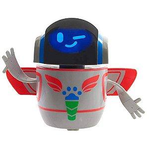 Brinquedo Robo Pj Masks Robo Com Luz e Som Original Dtc