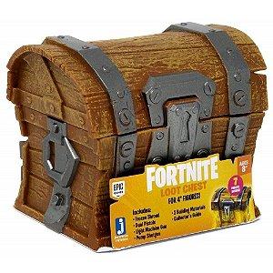 Brinquedo Fortnite Loot Chest Bau com Acessorios Sunny 2050