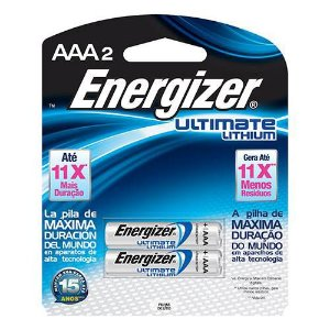 Pilha Energizer Ultimate Lithium AAA Energizer