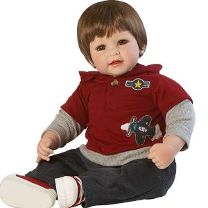 Boneca Realista Up Up And Away Boy Adora Doll 2020863