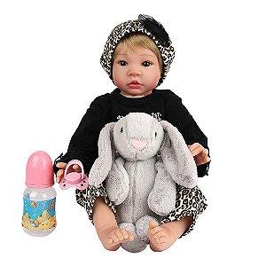 Boneca Realista Laura Baby Anita Bebe Reborn 000337