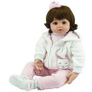 Boneca Realista Laura Baby Julia Bebe Reborn  000333