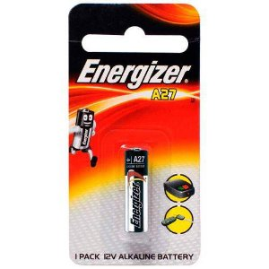 Pilha Alcalina A27 12v Energizer - Cartela Com 1 Pilha