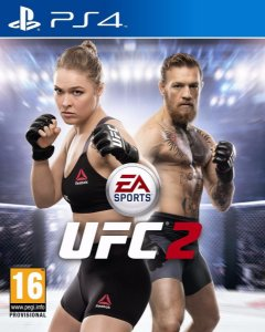 Jogo Novo Lacrado De Luta Ea Sports Ufc 2 Para Playstation 4
