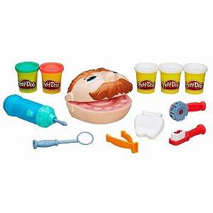 Novo Brinquedo Play-doh Brincando De Dentista B5520 Hasbro