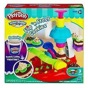Brinquedo Play Doh Fabrica De Cookies E Biscoistos A0320