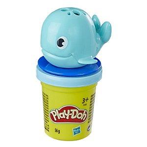 Kit Play Doh Mini Pote com Acessórios Baleia Hasbro E3365
