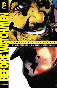 Hq Antes de Watchmen Comediante e Rorschach Panini Books DC