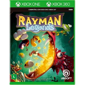 Jogo Novo Rayman Legends Retrocompativel para Xbox 360 e One