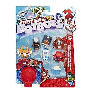 Mini Figuras Transformers BotBots Com 8 Figuras Sortidas