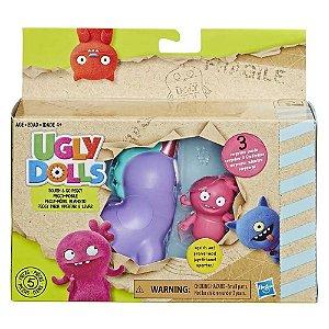 Brinquedo Ugly Dolls Figura e Veiculo Peggy E4519