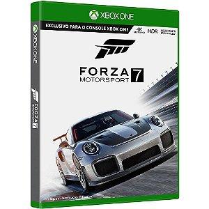 Jogo Mídia Física Forza Motorsport 7 Original Para Xbox One