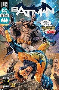 Nova Hq Batman Renascimento 24 Universo Dc Panini Comics